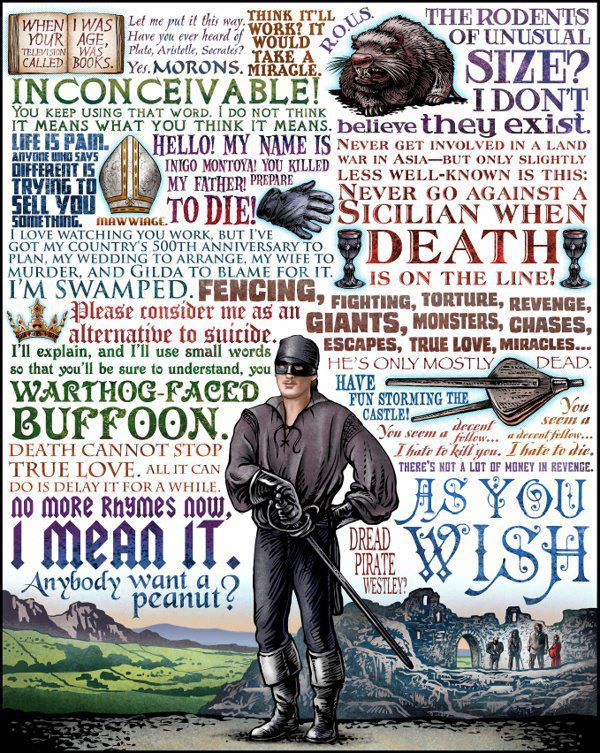 princess bride quotes | Every Day In April